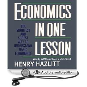 Economics in One Lesson (Unabridged)