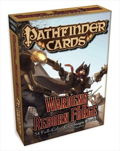 Paizo Publishing 3034 Pathfinder Cards - Wardens Of The Reborn Forge