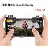 PUBG Mobile Game Controller [Upgrade Version] Autra Fire Button and Aim Key Joystick Shooter Control Game Gun Trigger for Rules of Survival, Sensitive Shooting iPhone, Android, IOS (1 Pair) (Tamaño: 1 Pair)