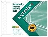 Kaspersky Lab Internet Security 2011 3 user- Frustration Free Packaging [Old Version]