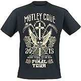Mötley Crüe Final Tour Tattoo T-Shirt schwarz