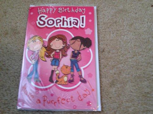 Happy Birthday Sophia - Singing Birthday Card