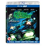 The Green Hornet (Blu-ray 3D + 2D Blu-ray) [2011] [Region Free]by Seth Rogen