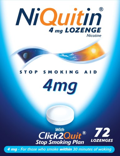 Niquitin Lozenges 4mg Original - 72 Lozenges