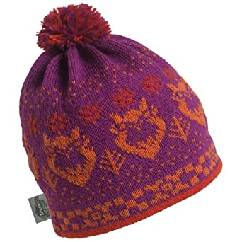 Buy Turtle Fur - Ladies Owly, Classic Wool Ski Hat Pom Beanie by Turtle Fur