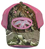 Camo & Pink Bling Duck Commander Baseball Hat