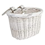 BASKET SUNLT FT WILLOW MINI WHT STRAP-ON9.75x6x7.5