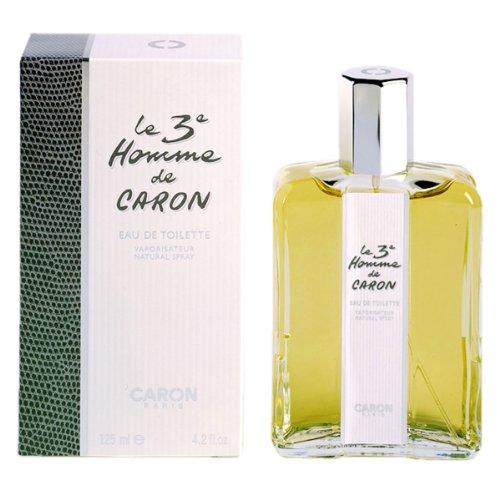 Caron, Le 3°, Eau de Toilette da uomo con vaporizzatore, 125 ml