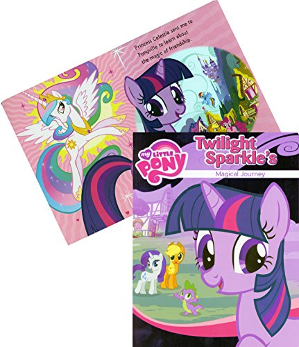"My Little Pony® Board Book ""Twilight Sparkle's Magical Journey"" - 1"