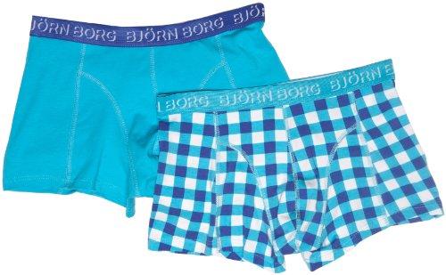 Bjorn Borg 2 Pack Block Check Short Shorts