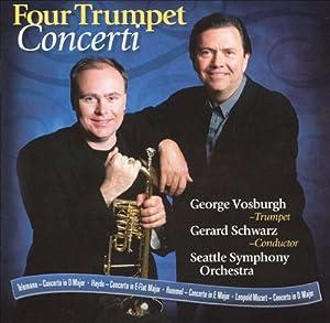 George Vosburgh: Four Trumpet Concerti