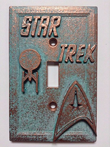 Star Trek Stone/Copper/Patina Light Switch Cover (Custom) (Copper/Patina) (Custom Light Switch Cover compare prices)