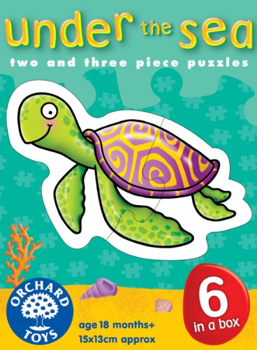 Cheap Orchard Toys Under the Sea 2-3 Piece Puzzles (B000MLYP3U)
