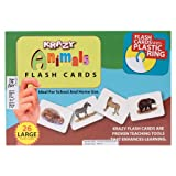 Krazy Common Animals - Bengali Flash Cards With Ring