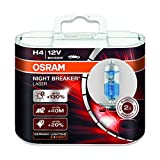 Osram H4 12V 60/55W 64193NBL NIGHT BREAKER LASER Car Lamps Halogen Headlight Hi/lo Beam 2X