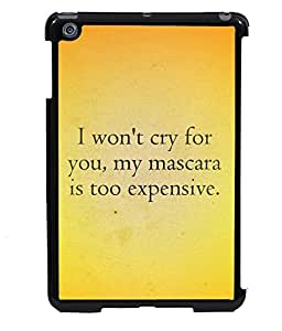 PRINTVISA Expensive Premium Metallic Insert Back Case Cover for Apple IPad Mini 2 - D6068