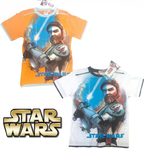 New Boys Star Wars Jedi Short Sleeved Cotton T Shirt