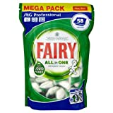 Fairy Professional All in One Original Dishwasher Tablets 1 x 58s