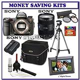 Sony Alpha A900 24.6MP Digital SLR Camera (Black)