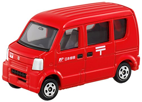 Takara Tomy Tomica #068 Post Van (Suzuki Every) - 1