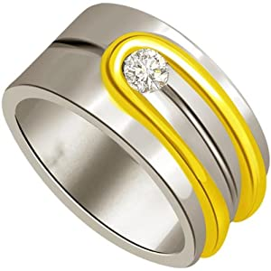 0.10 cts Diamond Men's Ring