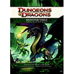 Monster Vault: Threats to the Nentir Vale: A 4th edition Dungeons & Dragons Supplement (4th Edition D&D)