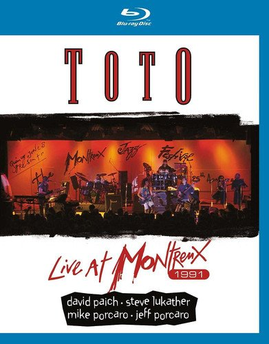 Blu-ray : Toto - Live At Montreux 1991 (United Kingdom - Import)