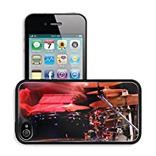 buy Luxlady Premium Apple Iphone 4 Iphone 4S Aluminum Backplate Bumper Snap Case Image Id 31051665 The Drummer In Action A Photo Close Up Process Play On A Musical Instrument