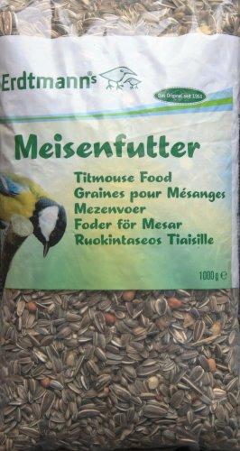 Meisenfutter, 1kg, 1000g hochwertiges Vogelfutter