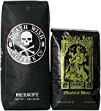 Death Wish Coffee & Valhalla Java Bundle, Fair Trade and USDA Certified Organic, Whole Bean Coffee
