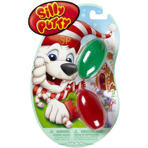 Crayola 08-0320 Silly Putty, Holiday Fun, 2-Pack - 1