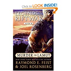 Murder in LaMut (Legends of the Riftwar, Book 2) by Raymond E. Feist and Joel Rosenberg