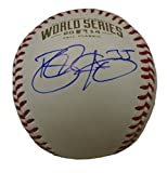 Brandon Crawford Autographed / Signed 2014 World Series Rawlings Official Game Baseball, San Francisco Giants, Proof Photo