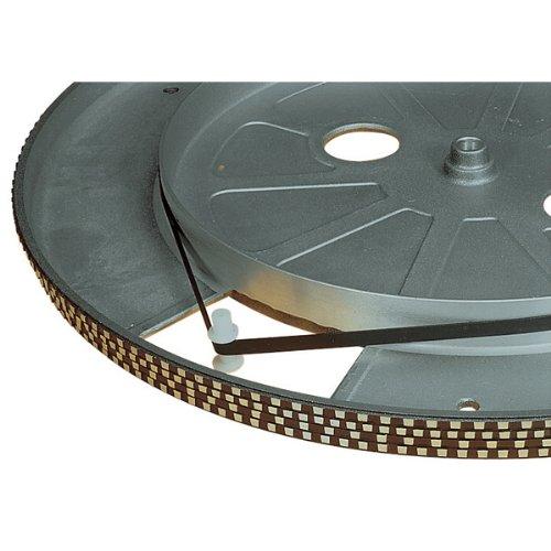 Schwarz 195 mm Plattenspieler Antriebsriemen