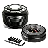 Mitsubishi Eclipse/Lancer/Pickup Steering Wheel 6-Hole Hub Adapter+Quick Release Kit - 1G 2G