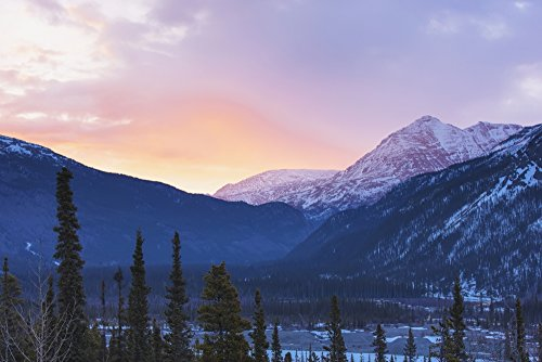 kevin-smith-design-pics-sunrise-lights-the-clouds-pink-above-the-sentinel-range-along-the-alcan-high