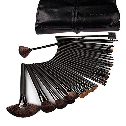 eBoTrade 32 Pcs Rod Makeup Brush Cosmetic Set Kit (Black) (Blender Disney compare prices)
