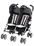 Graco Twin IPO Stroller, Platinum