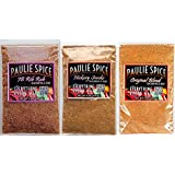 Paulie Spice : BBQ Seasoning and Rub Trio Set (3 Flavors) : Sweet and Smoky Rib Rub and... by Paulie Spice