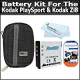 Battery Kit For Kodak PlaySport