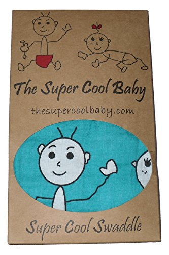 The Super Cool Kids Swaddling Blanket Unique and Organic|Swaddle Blanket Large|Swaddle Receiving Blankets|Muslin Swaddle Blankets