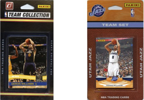 NBA Utah Jazz 2 Different Licensed Trading Card Team Sets