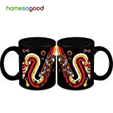 HomeSoGood Path From Random Structures Coffee Mugs (2 Mugs)