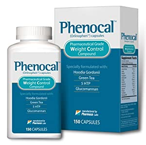 Phenocal Diet Pill Lose Weight Boost Metabolism Increase Energy 150 Caps from PHENOCAL