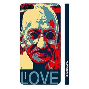 Huawei Honor 6 Plus Gandhi Love designer mobile hard shell case by Enthopia