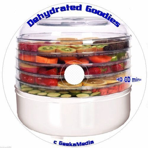 Food Dehydrator Cookbook Library: 19 Books and Guides C143 (Nesco Cookbook compare prices)