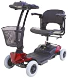 CTM HS-118 4 Wheel Electric Mobility Power Scooter RED