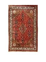 L'Eden del Tappeto Alfombra Abadeh Rojo / Marrón 311  x  202 cm