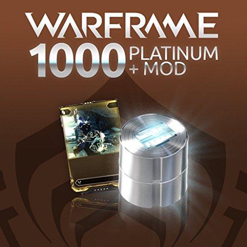 Warframe: 1000 Platinum + Rare Mod - PS4 [Digital Code] (Warframe Platinum compare prices)