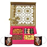 Chocholik Belgium Chocolates - Lovely Collection Of Almonds, Truffles, Butterscotch And Baklava Gift Box With... - B015RB66AE